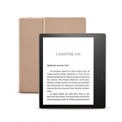 L'Amazon Kindle Oasis, la liseuse au format carré