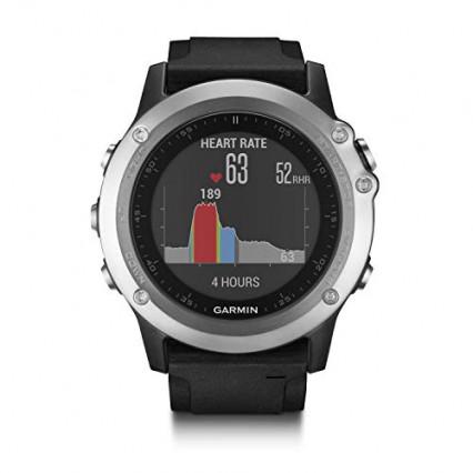 L'amie des grands sportifs : la montre connectée Garmin Fenix 3 Silver HR