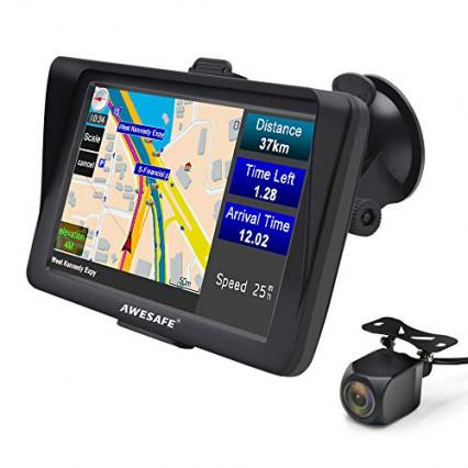 GPS auto Awesafe, avec caméra de recul incluse
