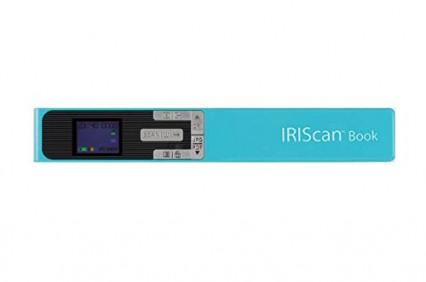 IRIScan Book 5 pour numériser à la volée
