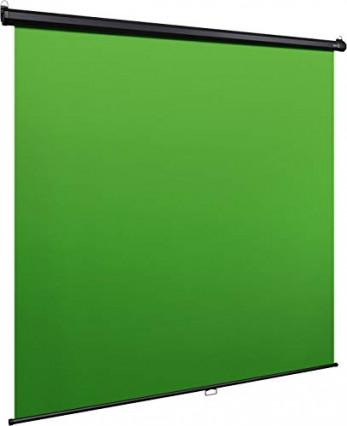 Le fond vert Green Screen MT Elgato de 190 x 200 cm, pour s'incruster partout
