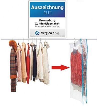 Les housses sous vide pour vêtements suspendus