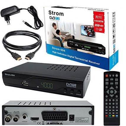 Le décodeur TNT Full HD Strom 504, l'entrée de gamme très pratique