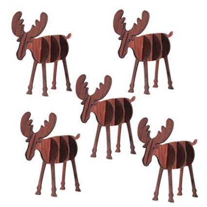 Des petits rennes en bois