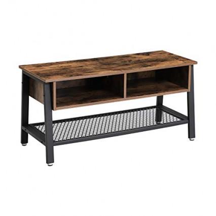 Le meuble TV en bois artisanal au look industriel
