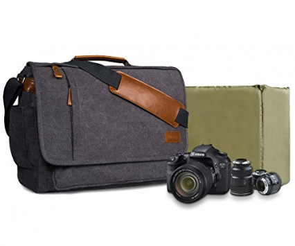 La plus élégante des sacoches pour appareil photo reflex