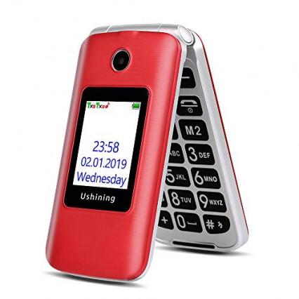 Le téléphone à clapet Ushining 3G dual sim