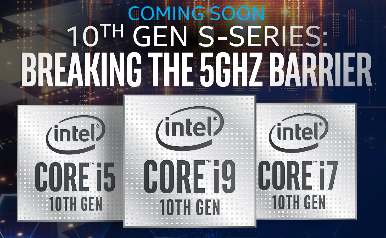 O que sabemos sobre os processadores intel 10ª geração Comet Lake