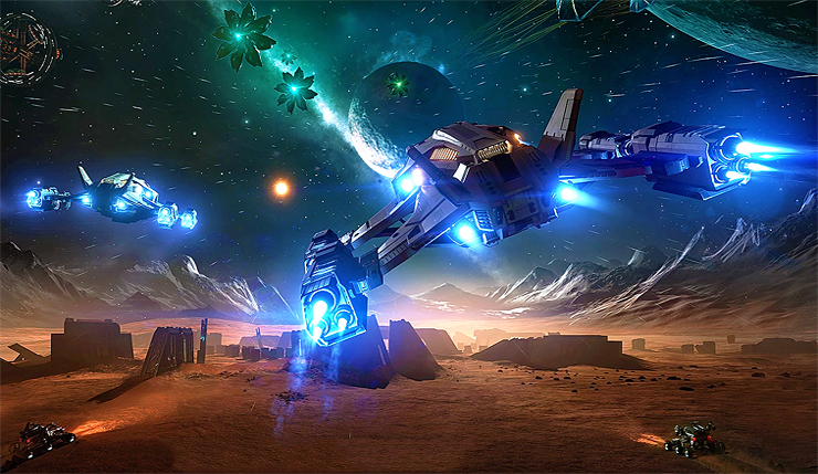 Elite Dangerous estará gratuito na Epic Games Store