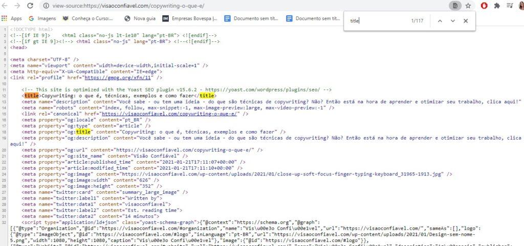 Código Fonte se sites: o que é e como interpretar?