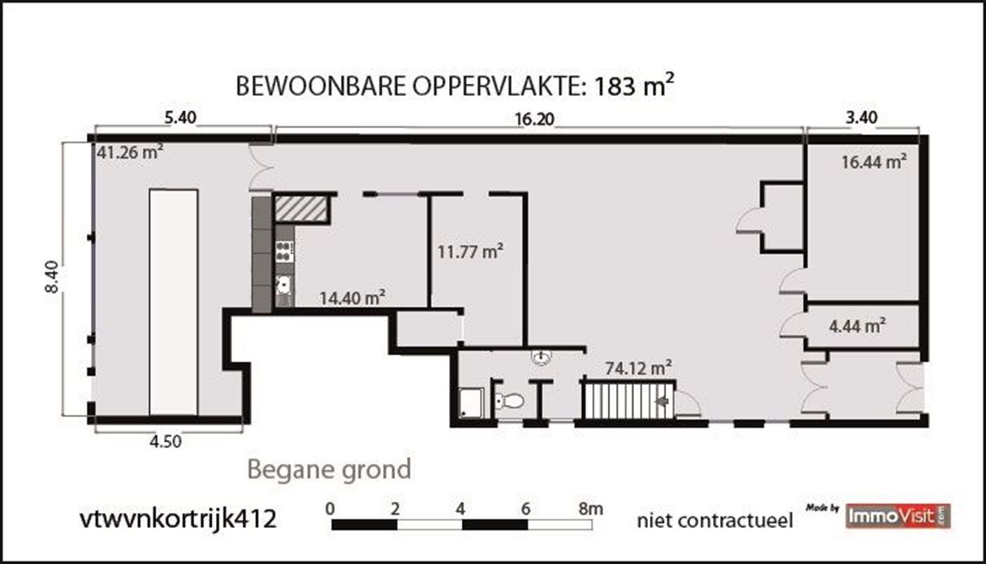 Foto 11 : Commercieel vastgoed te 8560 WEVELGEM (België) - Prijs € 185.000