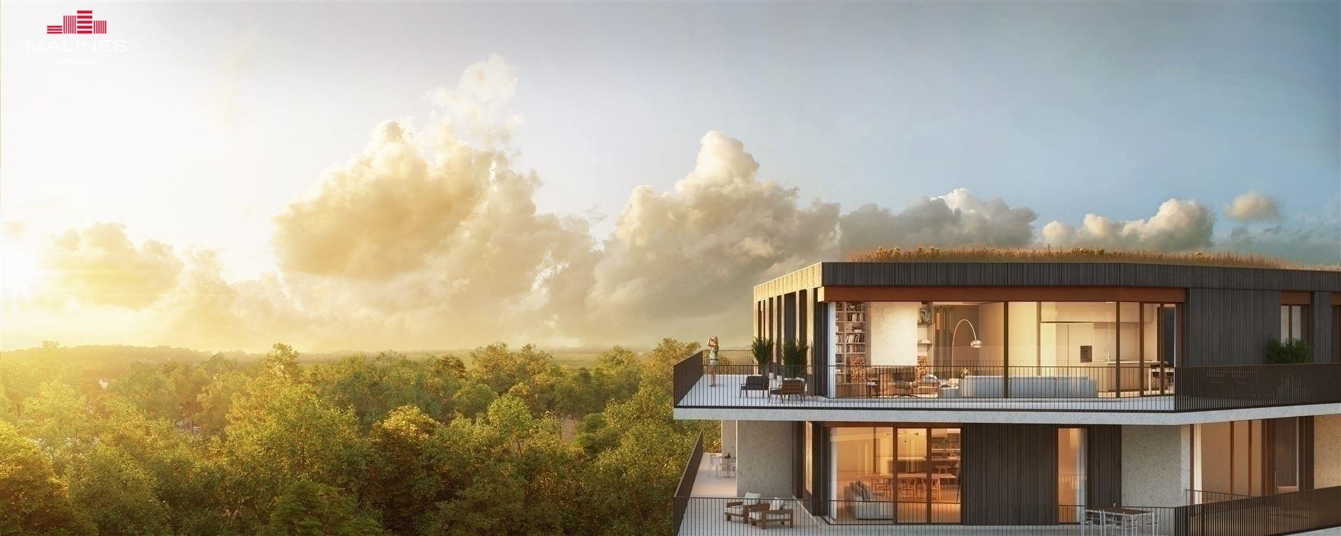 Prachtige penthouse met 3 slaapkamers en ruime terrassen