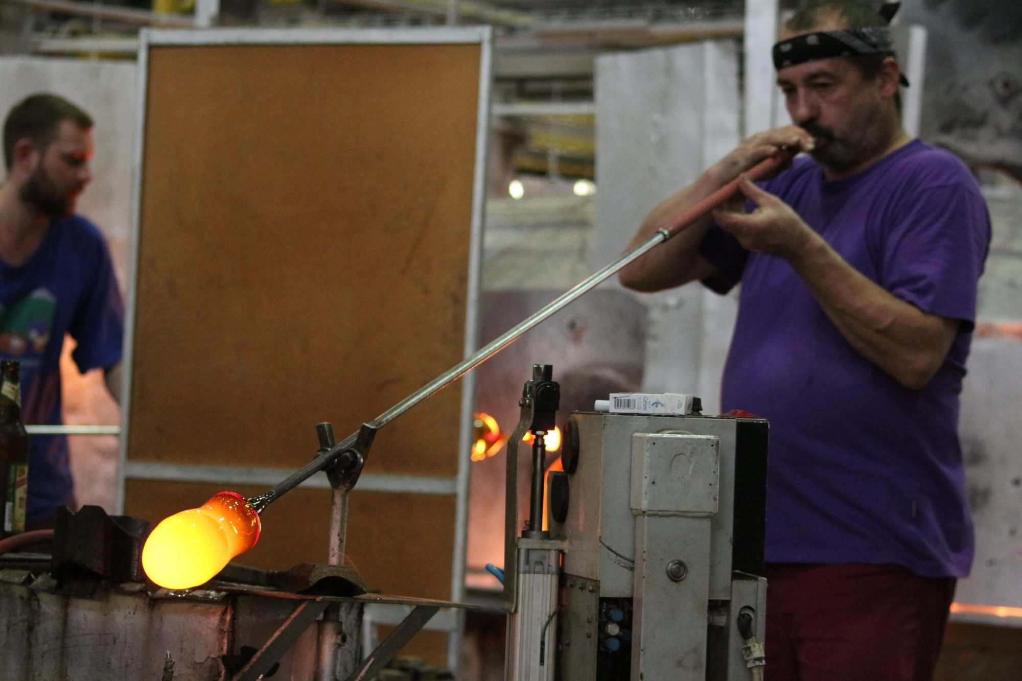 Moser Glass Factory in Karlovy Vary, Bohemian Crystal