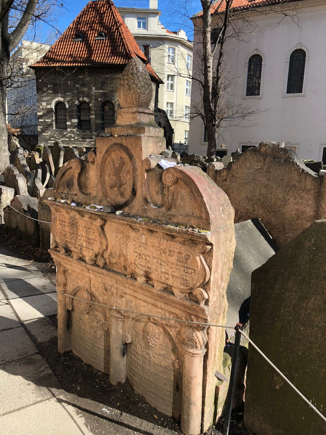 Old Jewish Cemetery and the grave of Rabbi Loew