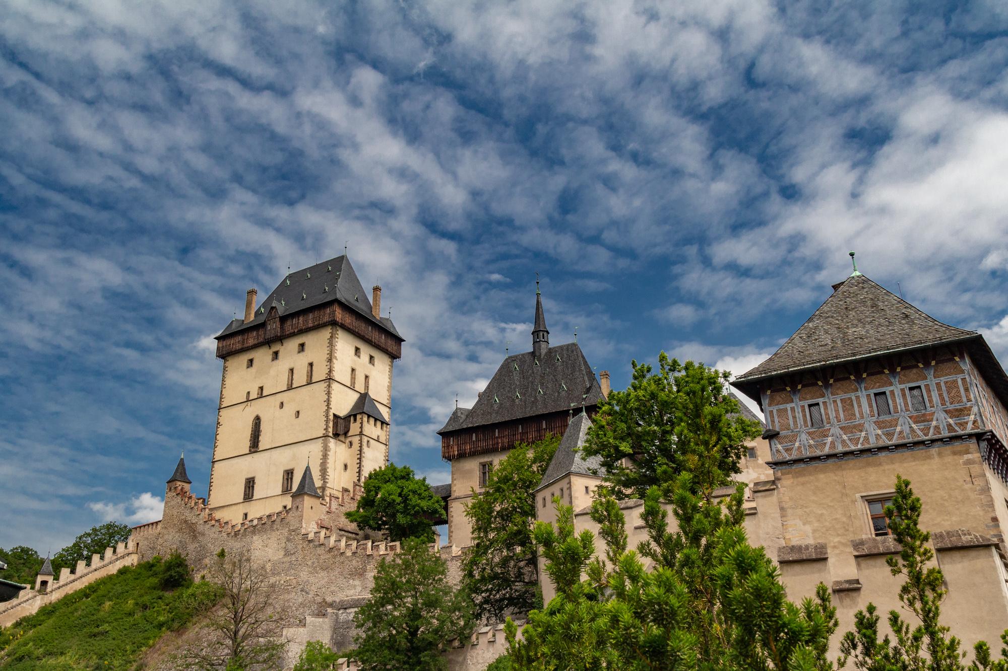 Karlstejn Castle, day trip from Prague, Czech Republic