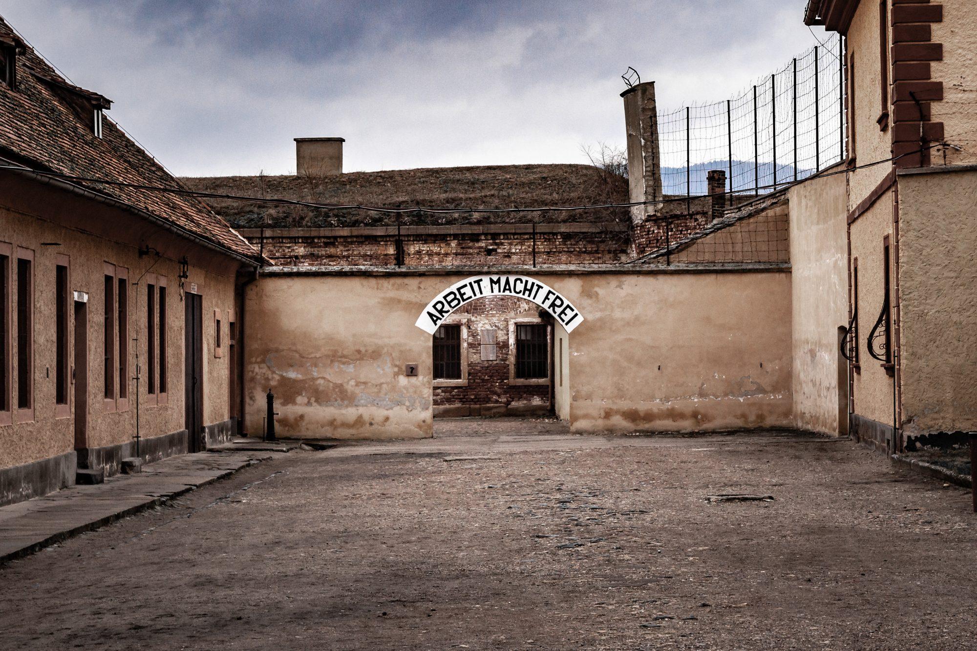 Jewish Ghetto and Gestapo Prison in Terezin, Czech Republic