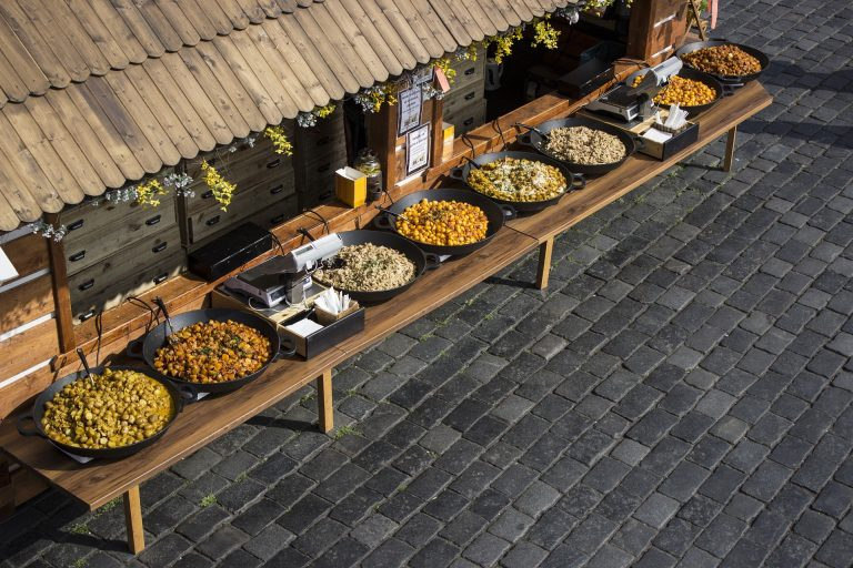 Food Market in Prague