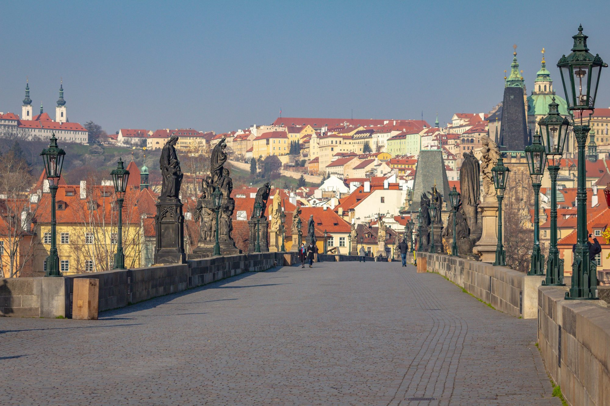 The photo of Charles Bridge, visited in the morning with a personal guide