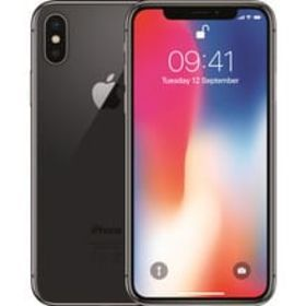iPhone X Space Gray 64 GB au