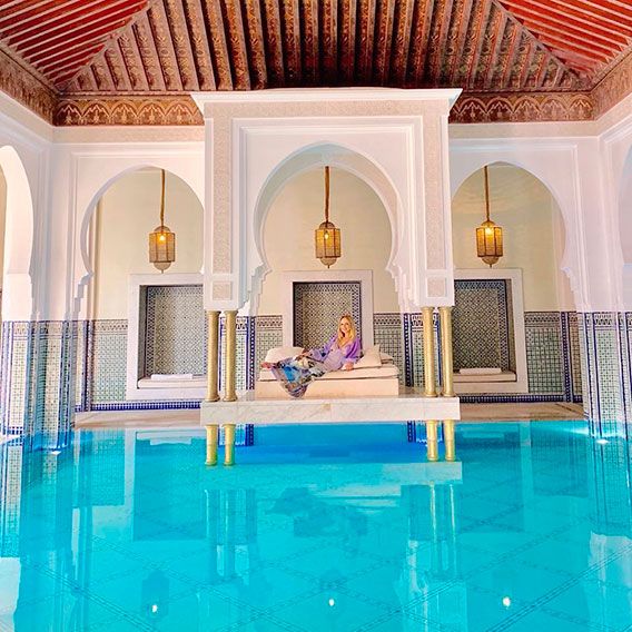 Eliana em Marrocos
