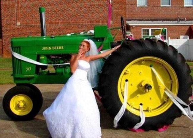 59d260fc36acb   - 30 photos hilarantes de mariages à la campagne
