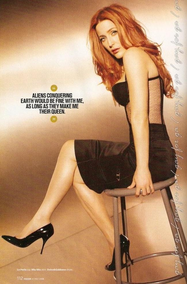 59f0e81b92b2c   - Les photos de Gillian Anderson les plus sexy