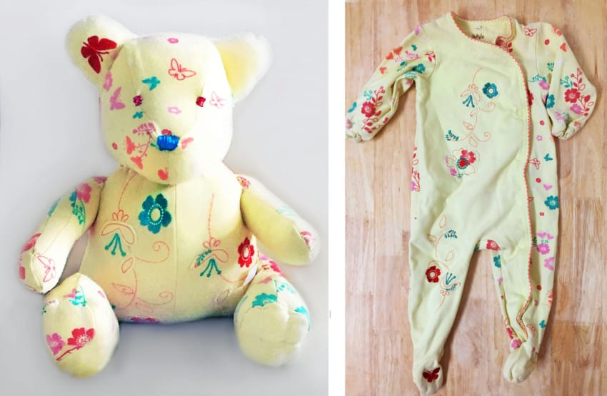 bear 16 850x555 - An Adorable DIY Solution To Your Kids' Outgrown Clothes!