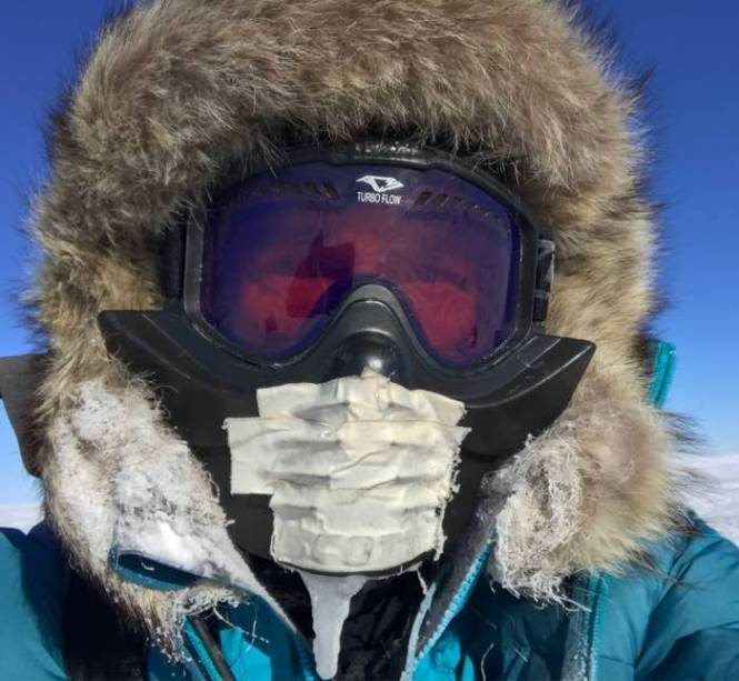 c07a9 - Il devient le premier homme à traverser l'Antarctique en solitaire