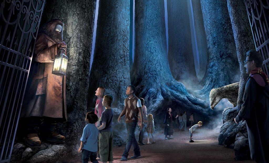 hp foret interdite 1024x621 - [NEWS] La Forêt Interdite de Poudlard ouvre ses portes à Londres !