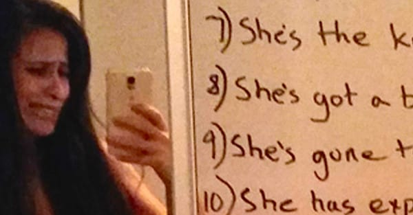 husband mirror note to wife 4 - After A Rough Fight, A Wife Looks At Her Mirror And Sees THIS Note From Her Husband!