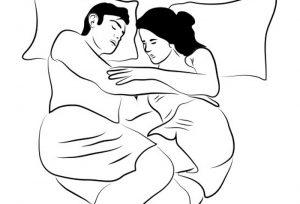 7 6 300x204 - Quand la manière de dormir en dit long sur le couple: on a décrypté 10 positions !