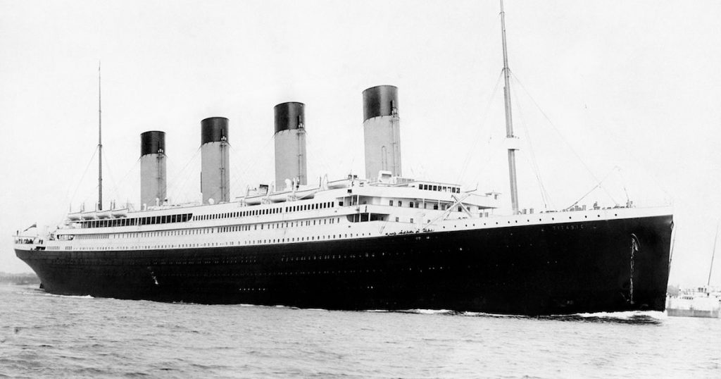 digitally restored vintage maritime history photo of the rms titantic 1024x538 - Visiter l'épave du Titanic, ça te tente ?