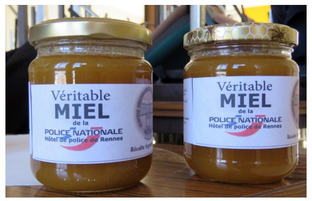 rennes  la police produit son miel sur le toit du commissariat - Rennes: la Police nationale produit son miel urbain