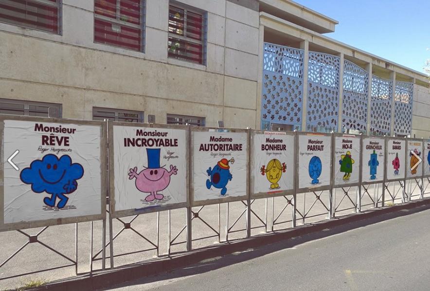 4  efix   publications - Présidentielle : Les candidats transformés en Monsieur, Madame par un street-artiste