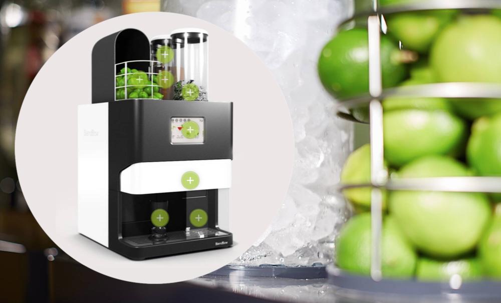 barmate one machine a cocktails qui fait mojitos en 30 secondes insolite - La machine à mojito va changer votre été !