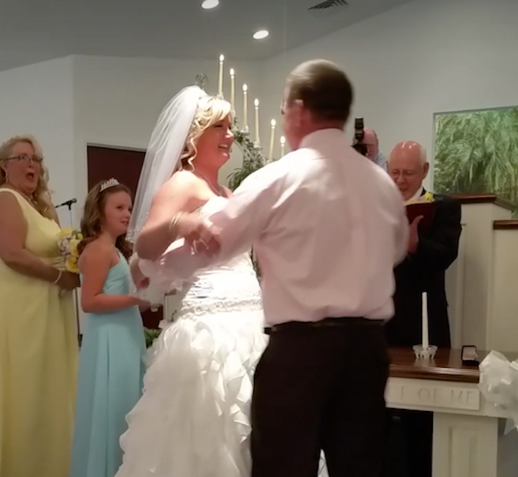 wedding daughter vow 2 - Groom Tells Bride To Step Aside At Their Wedding. Then, He Brings Another Girl To The Altar