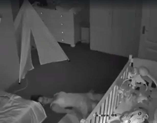 mother nursery room 2 - Dad Monitors Nursery Cam Footage But Stops After Seeing His Wife Dragged Away On The Floor