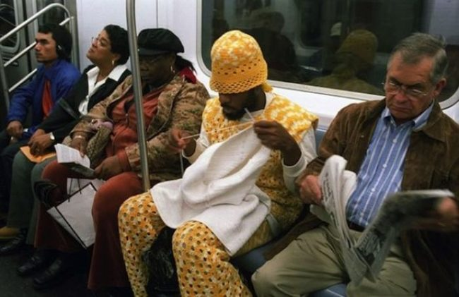 13bizzaretransport - 18 Photos Of The Most Unusual People On Public Transport