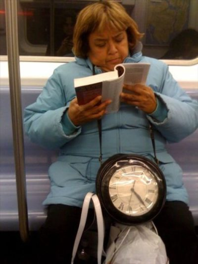 17bizzaretransport - 18 Photos Of The Most Unusual People On Public Transport