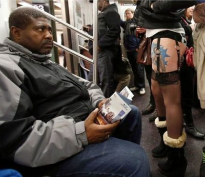 1bizzaretransport - 18 Photos Of The Most Unusual People On Public Transport