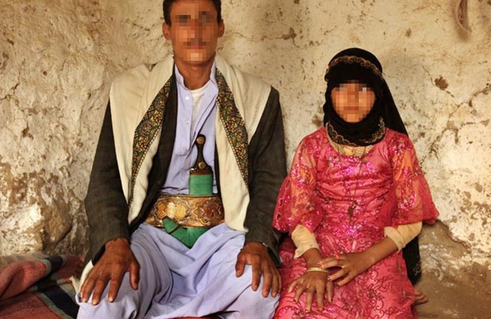 2345678 12 - 40대 남편과 첫날 밤을 보낸 뒤 사망한 '8살' 신부...경악