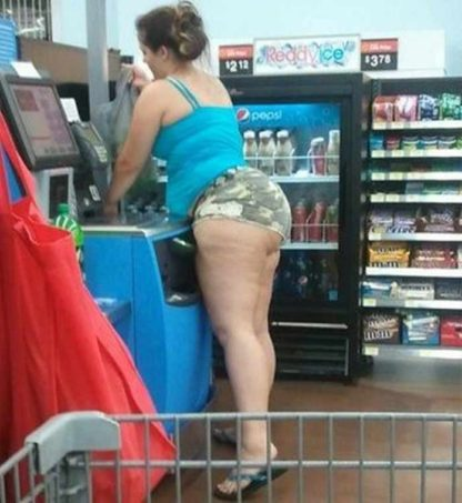 38 peopleofwalmart - 44 Funny Photos of the Strangest, Most Unusual Shoppers from Walmart