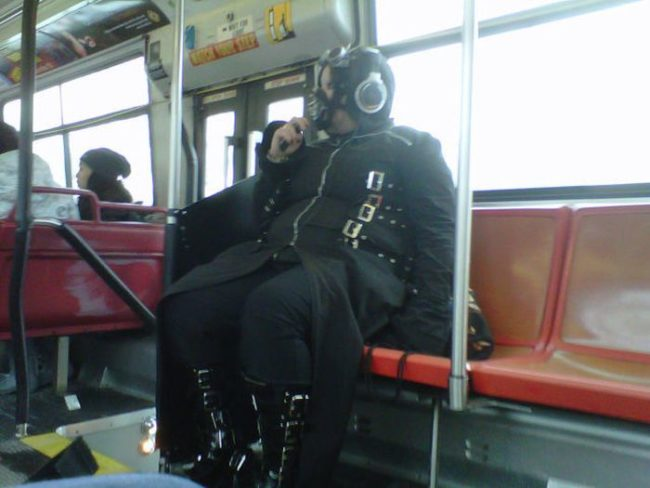 3bizzaretransport - 18 Photos Of The Most Unusual People On Public Transport