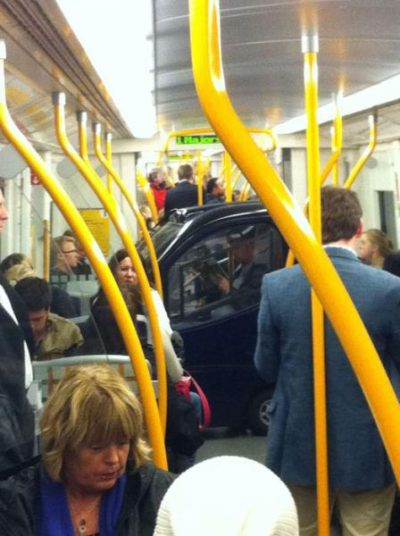 5bizzaretransport - 18 Photos Of The Most Unusual People On Public Transport