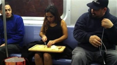 7bizzaretransport - 18 Photos Of The Most Unusual People On Public Transport
