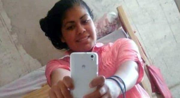 chica asesinada 2 - '전 남자친구'가 총 쏴 죽인 임산부 여성, 그녀는 죽기 직전 아이를 출산했다