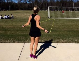 erin oprea rope skipping 300x234 - Stranger Snaps Photos Of Mom To Shame Her. But Mom Is Never Letting It Happen