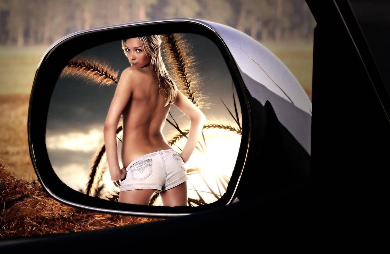rear mirror 2366457 1280 - 【エロ情報】 実は外見だけでわかる!その女性が「名器」かどうかが分かる方法7選