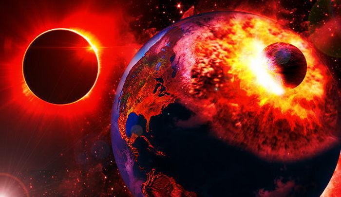 1 1 1 - 2017年9月23日、惑星衝突で地球が「滅亡」するかもしれない
