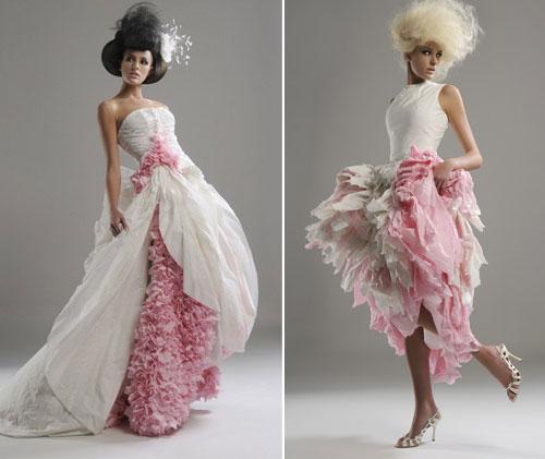 12weirdweddingdress - 無言薯條!19 件讓你看了「寧願不要結」的婚紗 #5 這畫面太美我不敢看